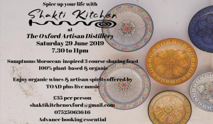 Spice up your life with Shakti Kitchen @ The Oxford Artisan Distillery   England   United Kingdom