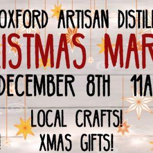 Christmas market Oxford Artisan Distillery