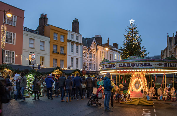 The Oxford Christmas Market