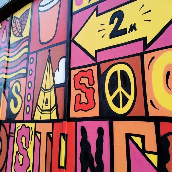 George Street Mural Luke Embden