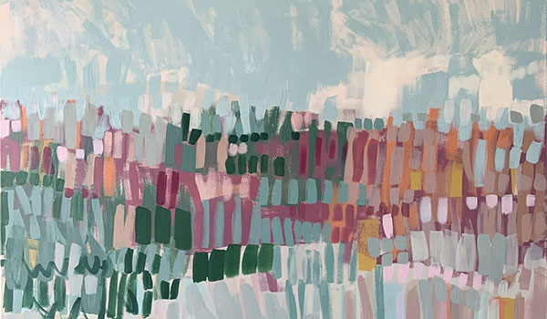 Claire Oxley painting