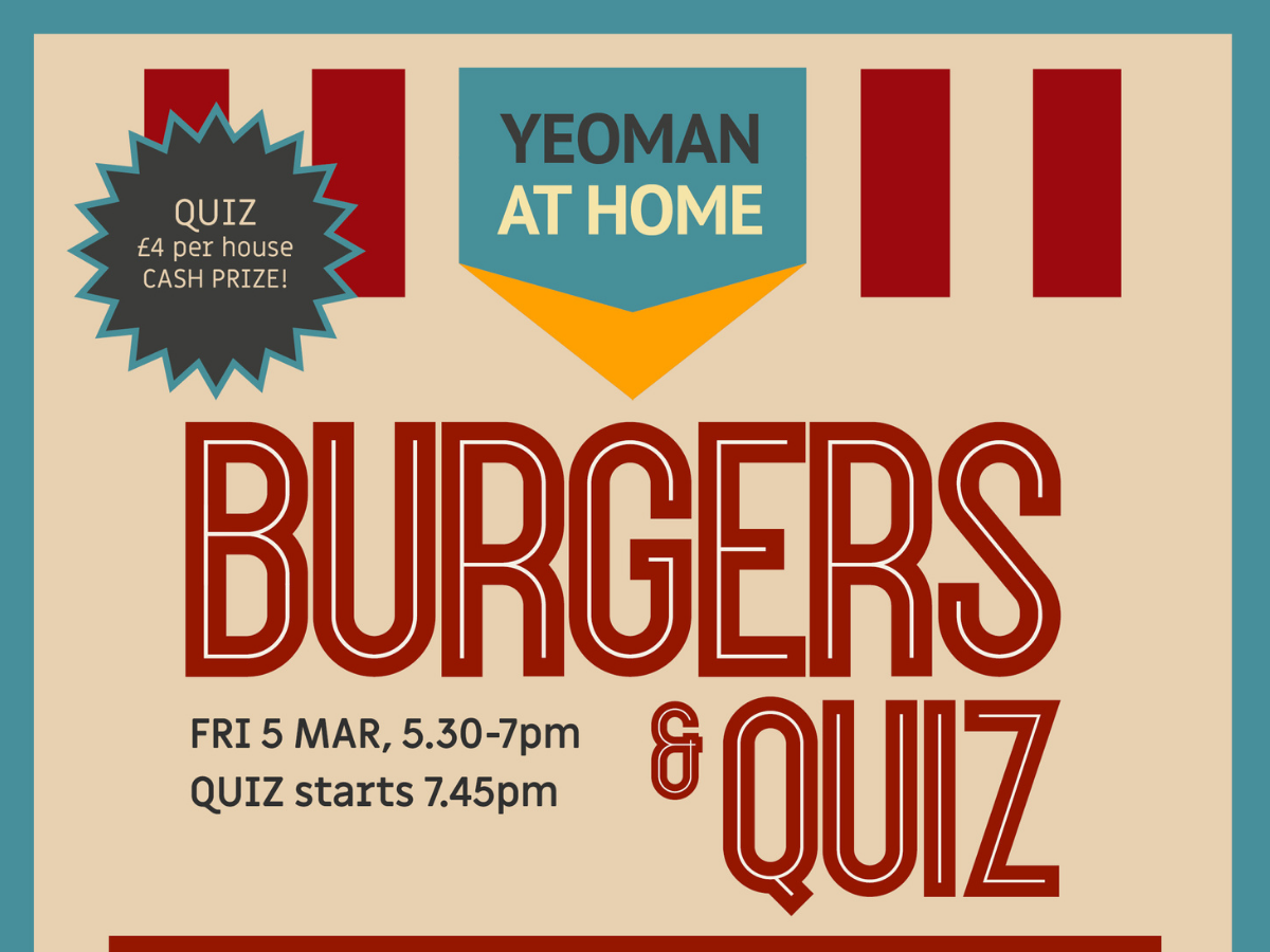 Oxfordshire Yeoman Burger and Quiz