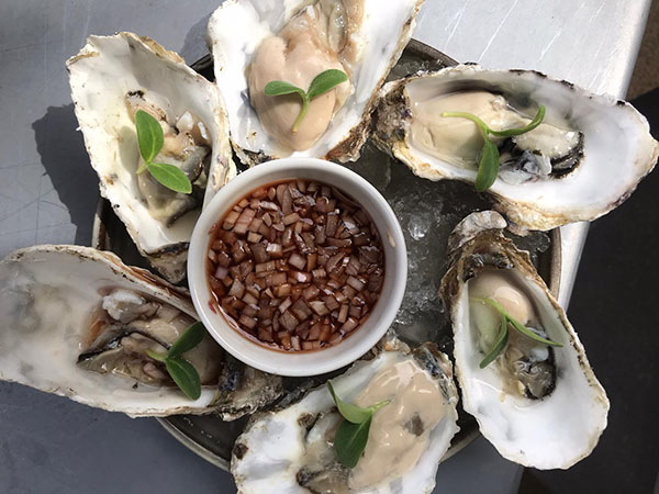 Oyster Bar Fridays - sustainable food