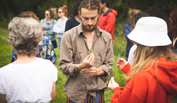 Treehouse Festival Oxfordshire Foraging