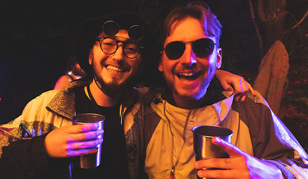 Treehouse Festival Oxfordshire friends
