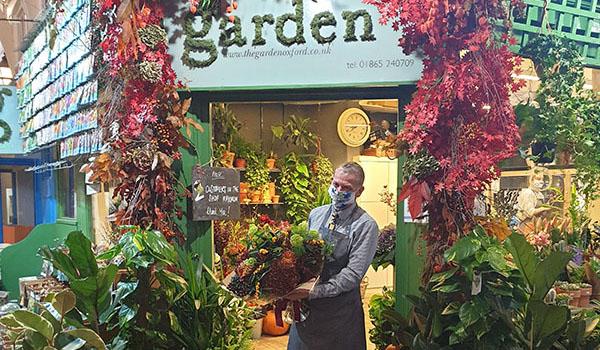 Autumn The Garden Oxford