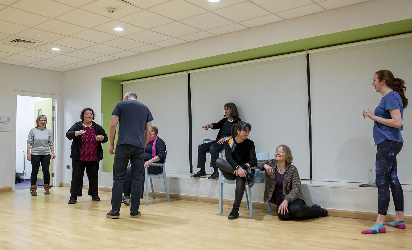 Open Stage Arts Oxford drama class
