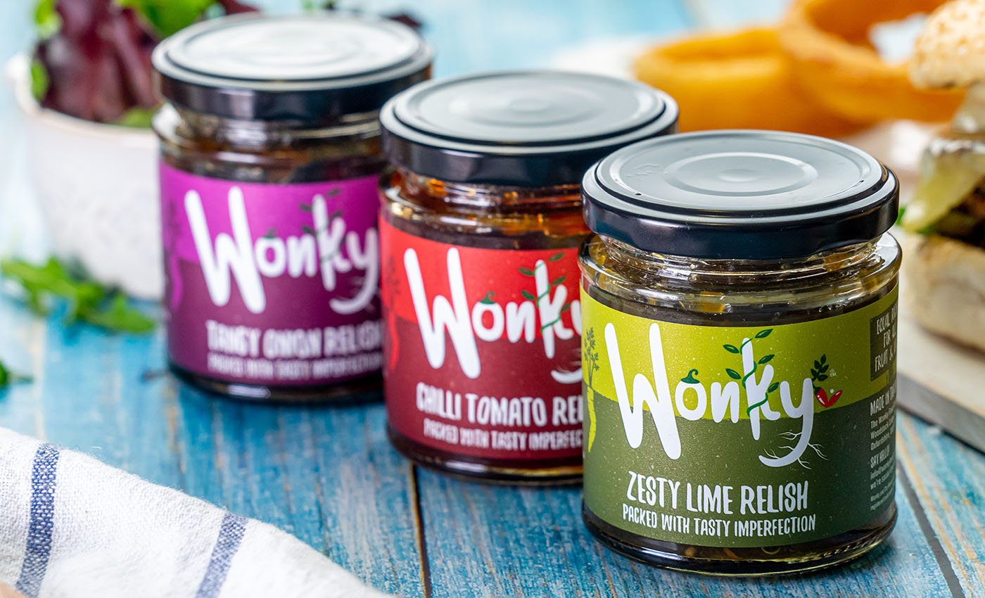 Wonky Food Oxford relishes
